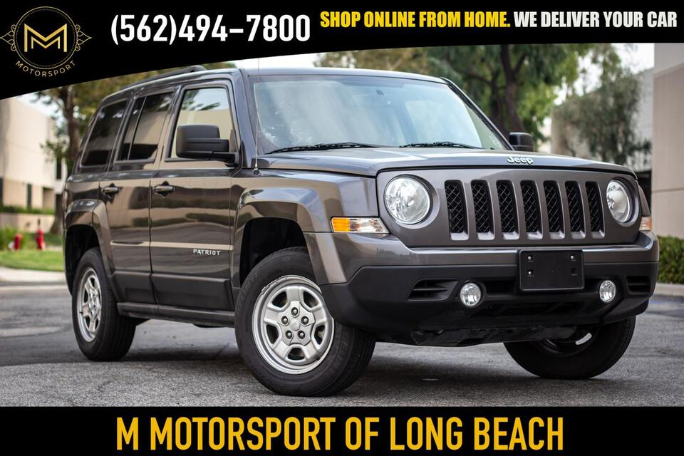 2017_Jeep_Patriot_Sport SUV 4D_ Long Beach CA