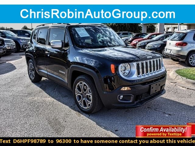 2017 Jeep Renegade LIMITED FWD Odessa TX