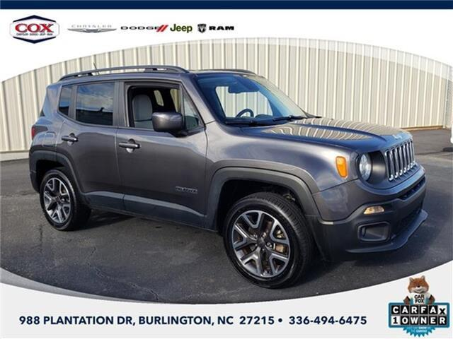 2017 Jeep Renegade Latitude 4x4 Burlington NC