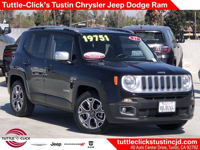 2017 Jeep Renegade Limited Tustin CA