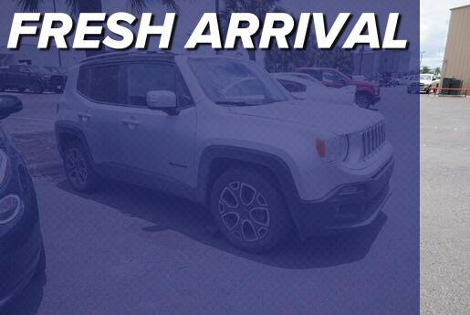 2017 Jeep Renegade Limited Mission TX