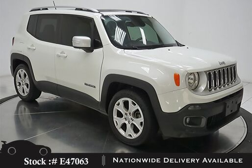 2017_Jeep_Renegade_Limited NAV,CAM,SUNROOF,KEY-GO,17IN WHLS_ Plano TX