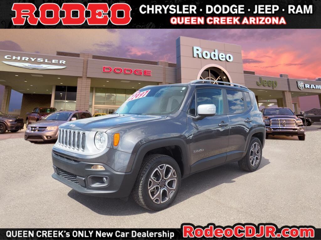 2017 Jeep Renegade Limited Queen Creek AZ