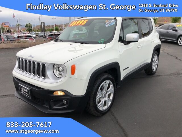 2017 Jeep Renegade Limited St. George UT