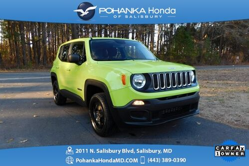 2017_Jeep_Renegade_Sport 4WD ** GUARANTEED FINANCING ** ONE OWNER **_ Salisbury MD