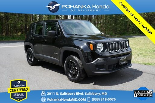 2017_Jeep_Renegade_Sport 4X4 **  Pohanka Certified 10 Year / 100,000  **_ Salisbury MD