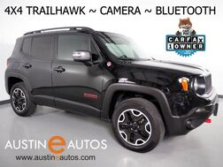 2017_Jeep_Renegade Trailhawk 4WD_*BACKUP-CAMERA, TOUCH SCREEN, STEERING WHEEL CONTROLS, KEYLESS ENTRY/START, REMOTE START, BLUETOOTH PHONE & AUDIO_ Round Rock TX