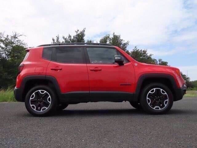 2017 Jeep Renegade Trailhawk Marble Falls TX