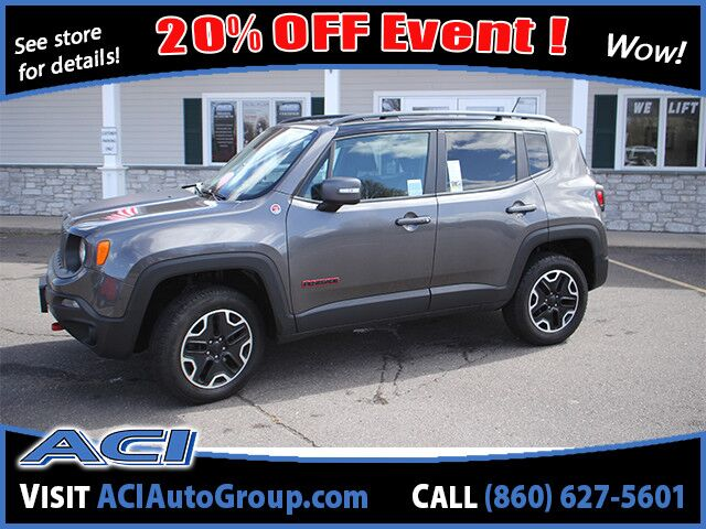 2017 Jeep Renegade Trailhawk East Windsor CT