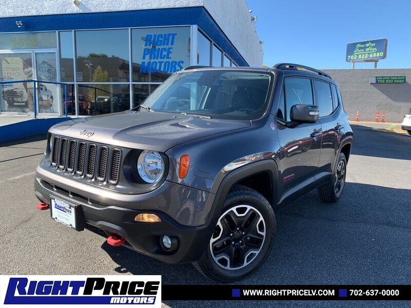 2017 Jeep Renegade Trailhawk Las Vegas NV