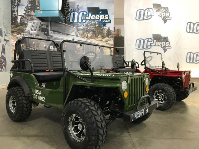 2017 Jeep Wrangler ELITE ARMY GREEN Mini Jeep