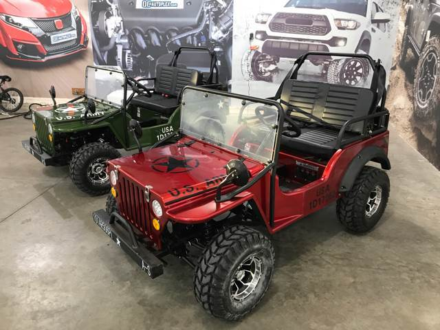 2017 Jeep Wrangler Elite Red Mini Jeep Eldridge Ia 24128572