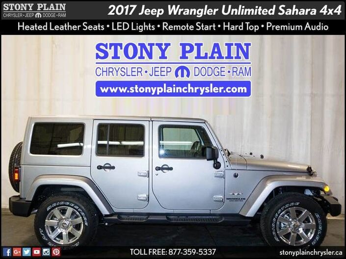 2017 Jeep Wrangler JK Unlimited Sahara Stony Plain AB