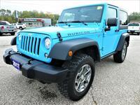 2017 Jeep Wrangler Rubicon 3.6L | Navigation | Heated Seats | Manual