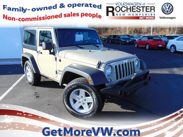 2017 Jeep Wrangler Sport Rochester NH