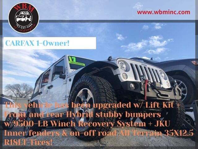 2017 Jeep Wrangler Unlimited 4WD Unlimited 75th Anniversary Arlington VA