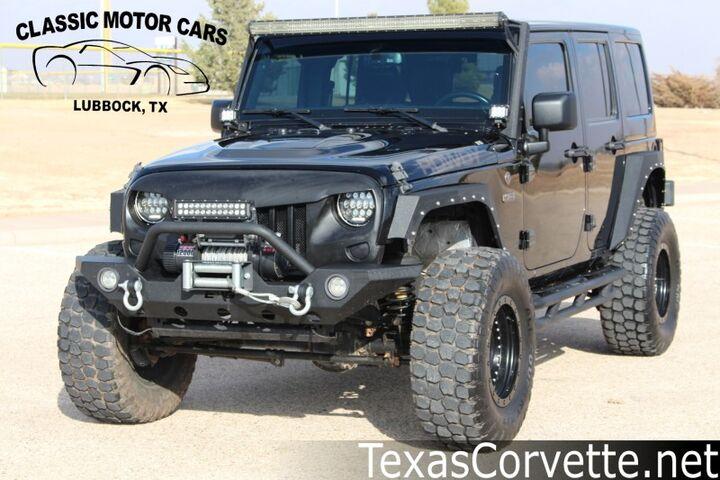 2017 Jeep Wrangler Unlimited 75th Anniversary Lubbock TX