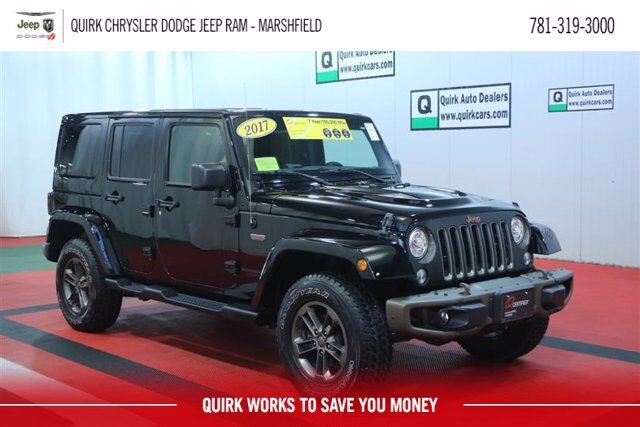 2017 Jeep Wrangler Unlimited 75th Anniversary Marshfield MA