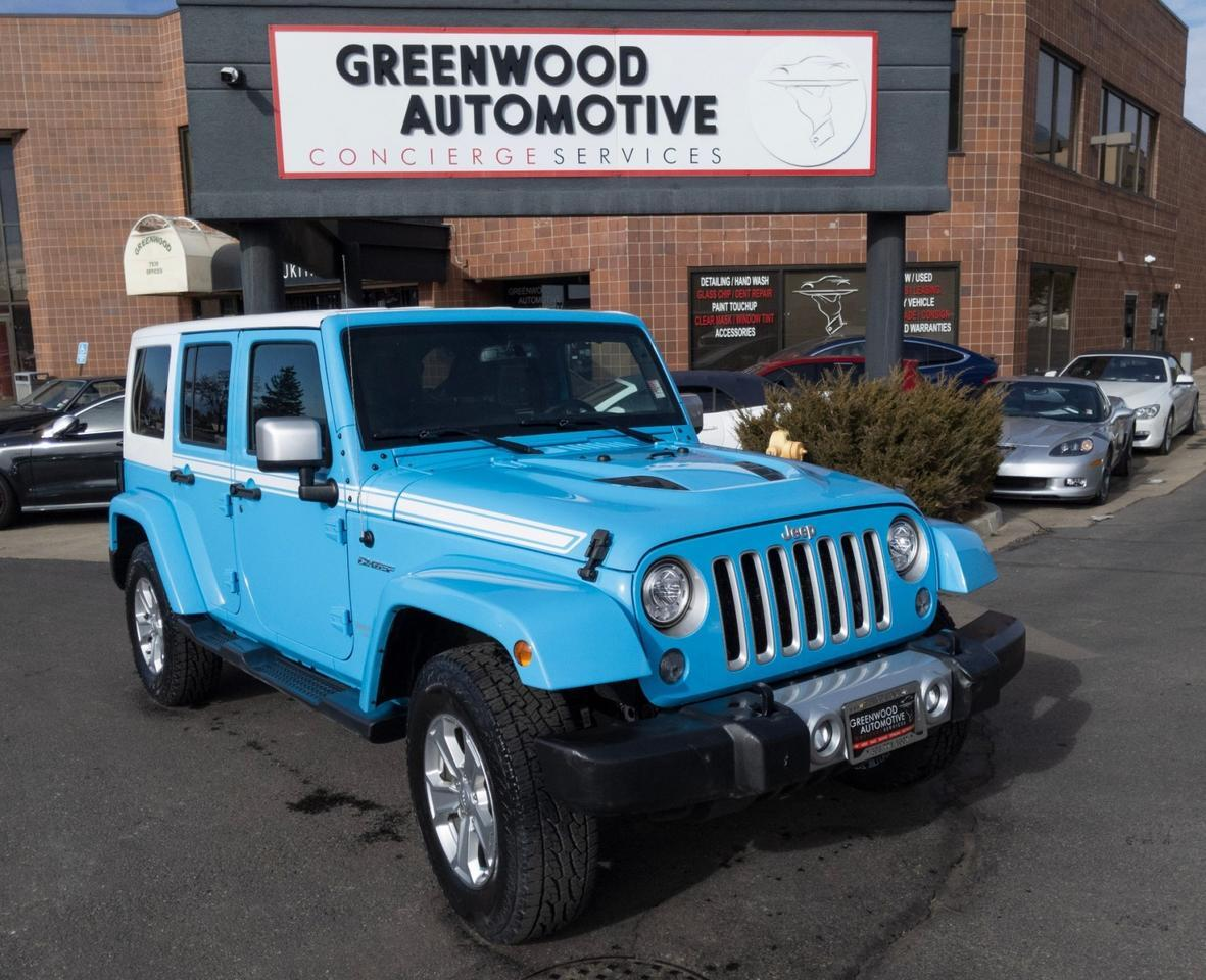 2017 Jeep Wrangler Unlimited Chief Edition Greenwood Village CO