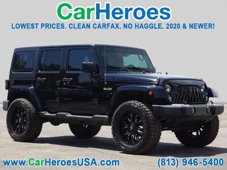 2017 Jeep Wrangler Unlimited Freedom Seffner FL