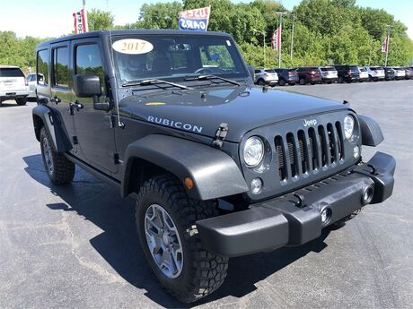 2017 Jeep Wrangler Unlimited RUBICON 4X4 Evansville IN