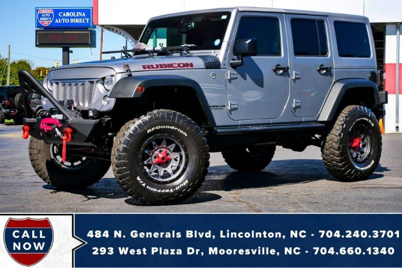 2017 Jeep Wrangler Unlimited Rubicon 4X4 *Hard Top* w/ Winch & Exhaust Mooresville NC