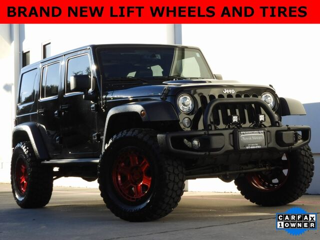 2017 Jeep Wrangler Unlimited Rubicon Bedford TX