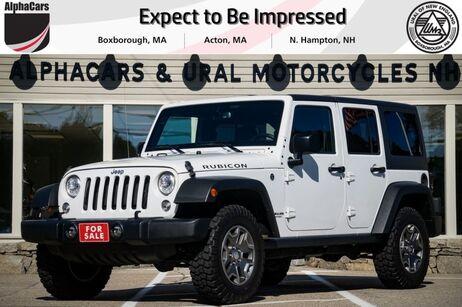 2017 Jeep Wrangler Unlimited Rubicon Boxborough MA