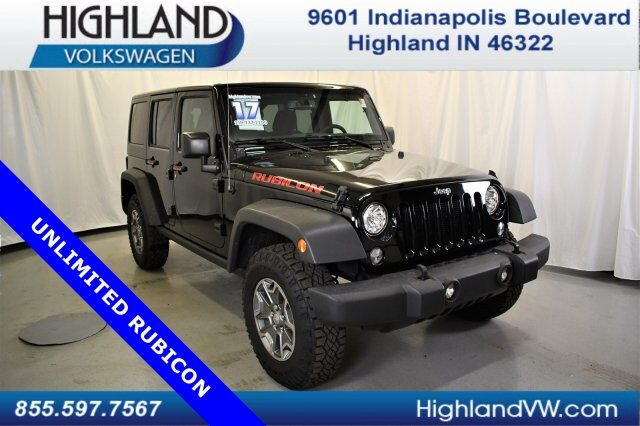 2017 Jeep Wrangler Unlimited Rubicon Highland In