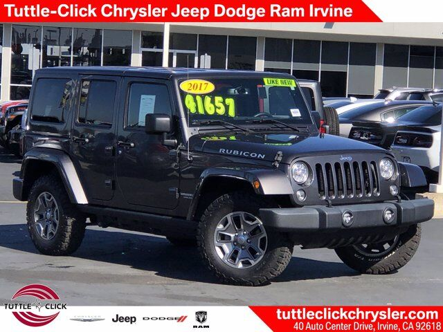 2017 Jeep Wrangler Unlimited Rubicon Irvine CA
