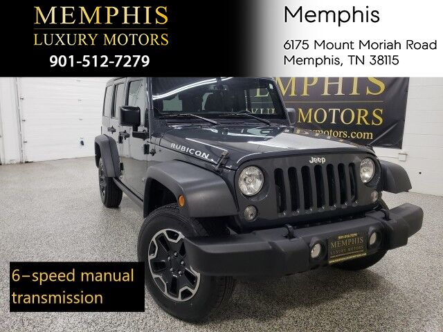2017 Jeep Wrangler Unlimited Rubicon Memphis TN