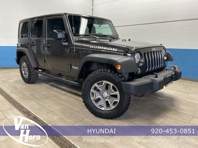 2017 Jeep Wrangler Unlimited Rubicon Plymouth WI