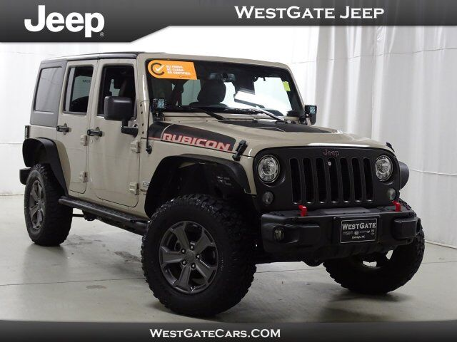 2017 Jeep Wrangler Unlimited Rubicon Recon Raleigh NC