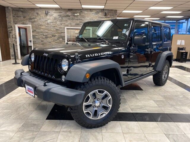 2017 Jeep Wrangler Unlimited Rubicon Worcester MA