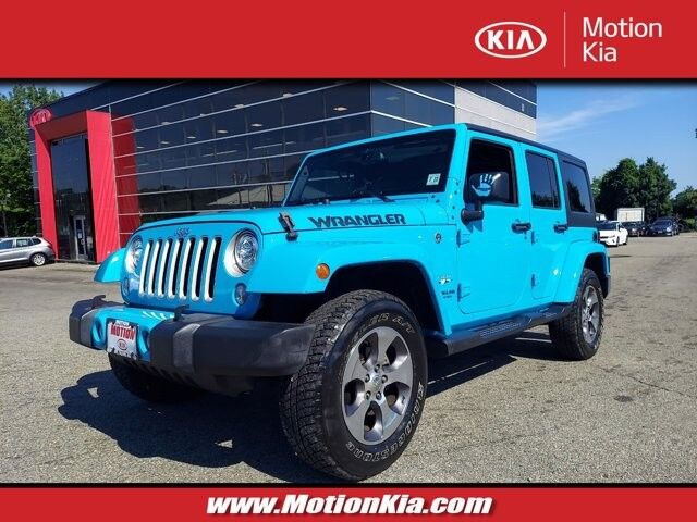 2017 Jeep Wrangler Unlimited Sahara Hackettstown NJ