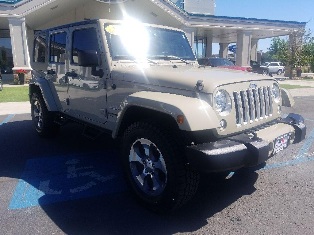 2017 Jeep Wrangler Unlimited Sahara Pocatello ID