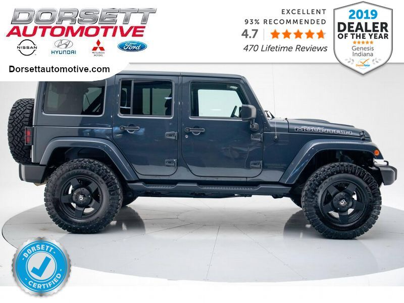 2017 Jeep Wrangler Unlimited Sahara Terre Haute IN