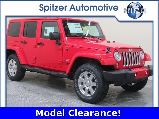 2017 Jeep Wrangler Unlimited Sahara Mansfield OH