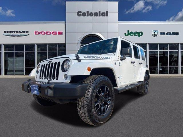 2017 Jeep Wrangler Unlimited Smoky Mountain 4x4 *Ltd Avail* Hudson MA