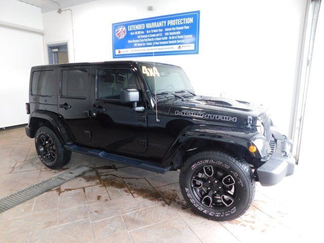 2017 Jeep Wrangler Unlimited Smoky Mountain LEATHER Listowel ON