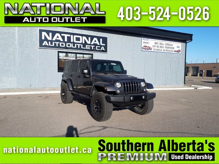 2017 Jeep Wrangler Unlimited Smoky Mountain Lethbridge AB