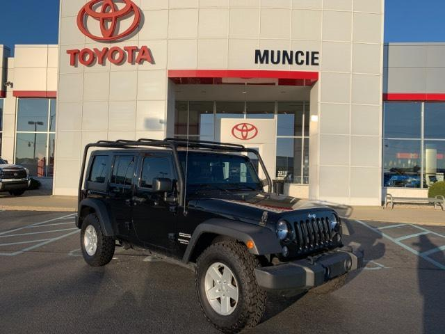 2017 Jeep Wrangler Unlimited Sport 4x4 Muncie IN