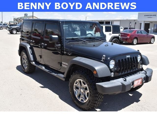2017 Jeep Wrangler Unlimited Sport Andrews TX