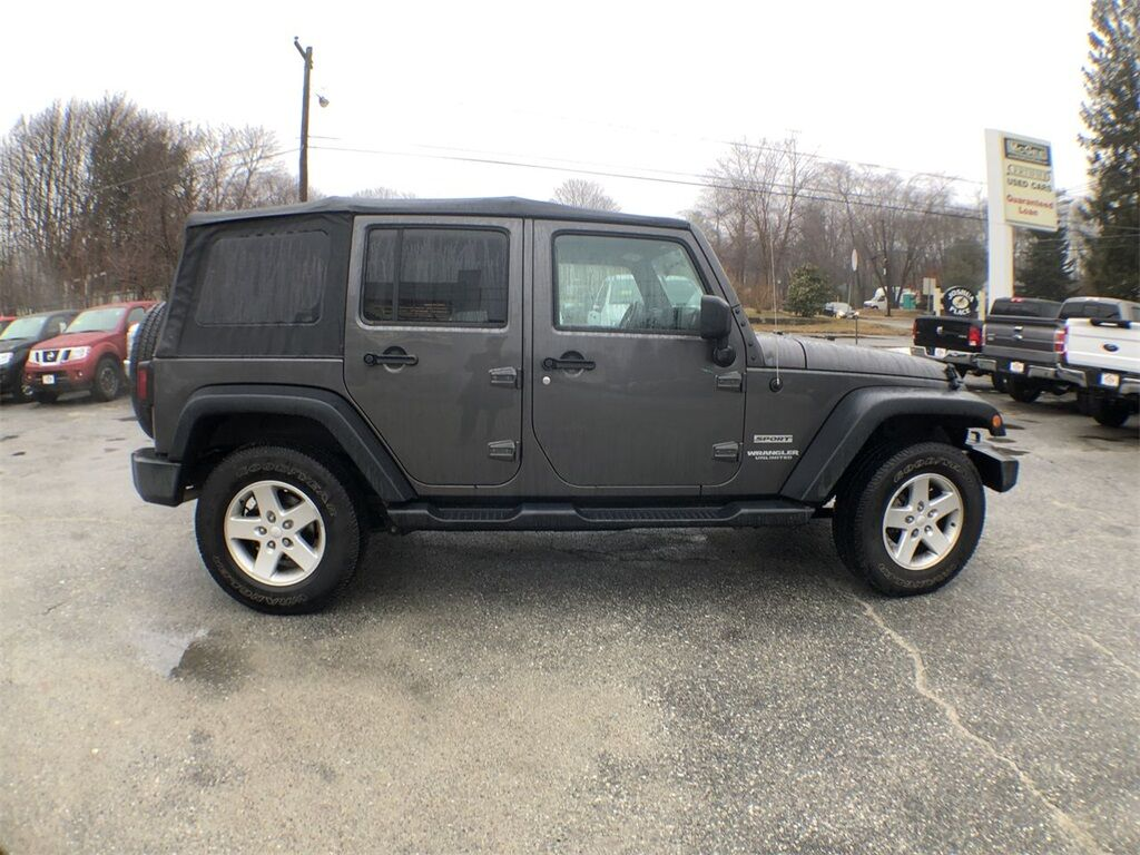 2017 Jeep Wrangler Unlimited Sport Dudley MA