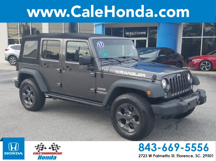 2017 Jeep Wrangler Unlimited Sport Florence SC