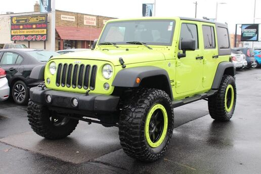 2017 Jeep Wrangler Unlimited Sport Fort Wayne Auburn and Kendallville IN