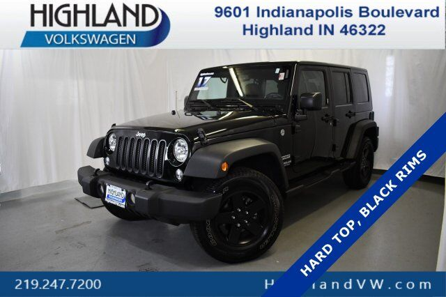 2017 Jeep Wrangler Unlimited Sport Highland IN