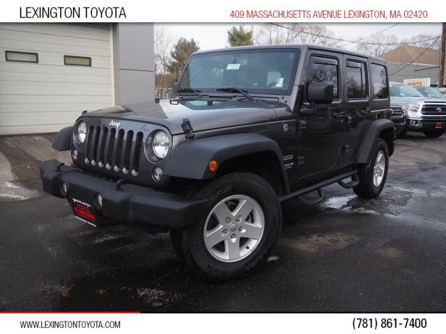 2017 Jeep Wrangler Unlimited Sport Lexington MA