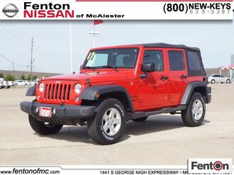 2017_Jeep_Wrangler_Unlimited Sport_ McAlester OK