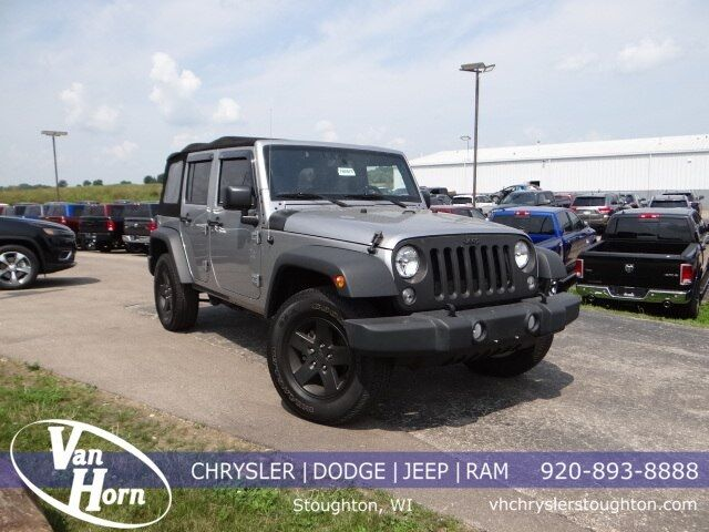 2017 Jeep Wrangler Unlimited Sport Plymouth WI